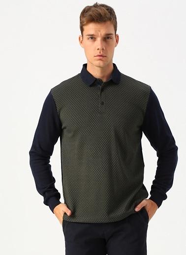 Cotton Bar Sweatshirt Haki